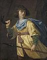 Portret van een jonge man met spies en jachthoorn Rijksmuseum SK-A-1593.jpeg