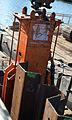 Pose de palplanches Deûle canaliséeLille2012 05.JPG