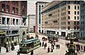 PostcardSanFranciscoFountainPalaceHotelChronicleEntrance1915.jpg