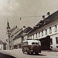 Postcard of Novo mesto 1945.jpg