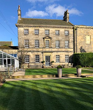 Potterton, West Yorkshire - Image: Potterton Hall West