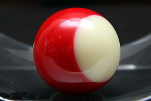 Power Snooker - The most recent version of the Power Ball. The Power Ball looks similar to the 11-ball in pocket billiards but without the number designation.