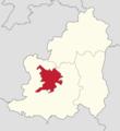 Powiat lubiński - lokalizacja gminy miejskiej Lubin.png