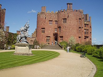Powis Castle - Powis Castle from the courtyard