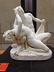 Satyre et bacchante by James Pradier