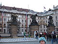 Prague Castle first courtyard 3.JPG