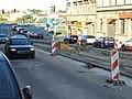 Praha, Radlice, rekonstrukce tramvajové trati.jpg