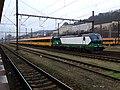 Praha-Smíchov, vlak RegioJet s lokomotivou Vectron.jpg
