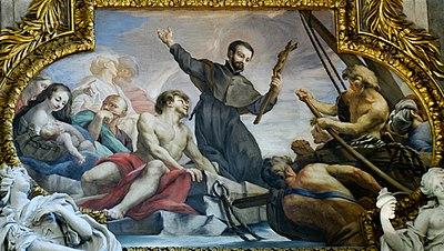 Representación de Francisco Javier