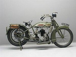 Premier Motorcycles - Image: Premier 4,5 hp 500 cc 1916