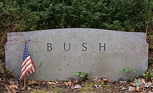 Prescott Bush - The headstone of Prescott Bush