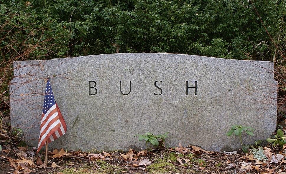 Prescott Bush Headstone