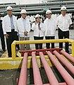 President Arroyo at Pandacan Oil Depot (2006).jpg