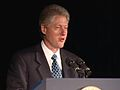 President Clinton at a Dinner Honoring Rep. John Lewis (2000) 04.jpg