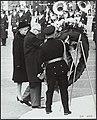 President Heinemann van West-Duitsland.en zijn vrouw arriveerden in Amsterdam vo, Bestanddeelnr 136-0852.jpg