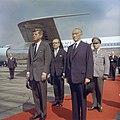 President John F. Kennedy Arrives at Wahn Airport in Bonn, Germany JFKWHP-KN-C29231.jpg