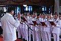 President Rodrigo Duterte administers the oath of office of newly-promoted generals and flag officers at the Rizal Hall in Malacañan on August 23.jpg