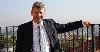 Richard Hodges (archaeologist) - Dr. Richard Hodges, President of The American University of Rome (2012).