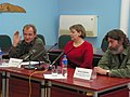 Press conference May Readings 2006.jpg