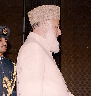 President of Pakistan - Image: Pride of Performance Award by President of Pakistan (cropped head)