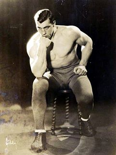 Primo Carnera Italian boxer and professional wrestler