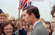 Il principe Carlo arriva alla Andrews Air Force Base negli Stati Uniti, 1981