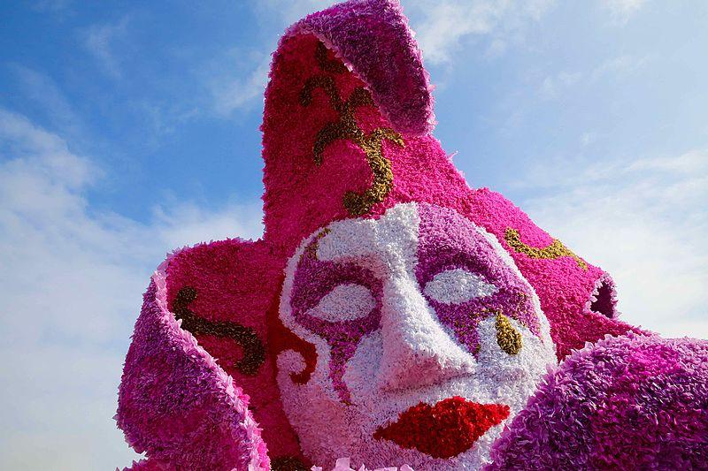 Carnaval en Maaseik (Bélgica).
