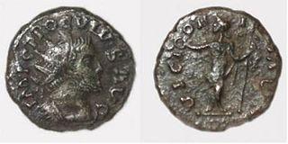 Proculus Roman usurper