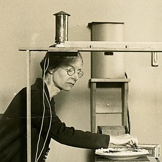Louise Sherwood McDowell American physicist