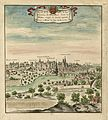 Profil de la Ville et du Chasteau de Mayenne, dans le Maine, érigée en duché appartenant à Mons.r le Duc de Mazarin.jpg