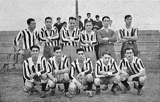Club Progresista - The team that won its only AFA title, the 1935 Tercera División championship.