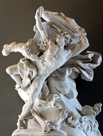 Prometheus - Prometheus depicted in a sculpture by Nicolas-Sébastien Adam, 1762 (Louvre)