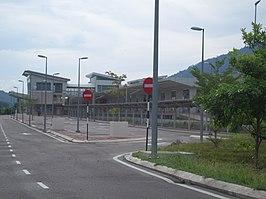 Pulau Sebang/Tampin railway station