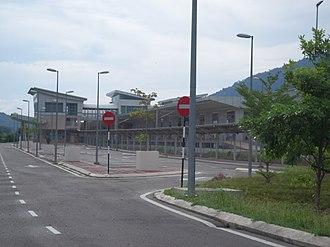 Pulau Sebang - Pulau Sebang/Tampin railway station