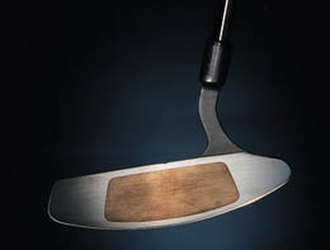 Putter - Putter with insert.