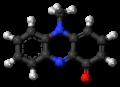 Pyocyanine 3D ball.png