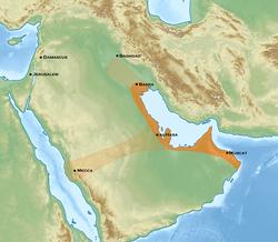 Qarmates sous Abu Tahir al-Jannabi