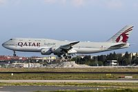 A7-HHE - B748 - Qatar Airways Amiri Flight