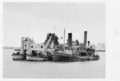 Queensland State Archives 4741 Dredges Brisbane River c 1952.png