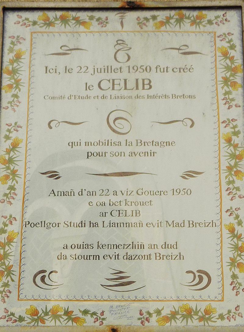 CELIB, quand les élus bretons se mobilisaient pour la Bretagne
