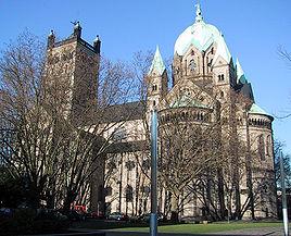 Kirken Quirinus-Münster i Neus