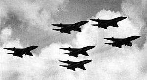Formation flying - RA-5C Vigilantes in formation.