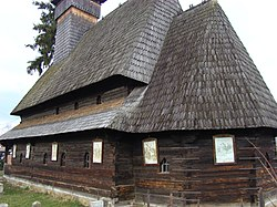 Wooden church from Şieu