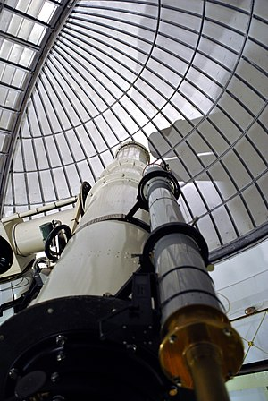 UCL Observatory - Image: Radcliffe telescope, University of London Observatory (2)