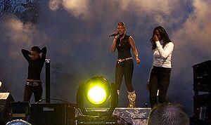 Raffaëla Paton - Paton during the Idol series
