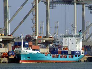 Ragna, Amazone harbour, Port of Rotterdam, Holland.JPG