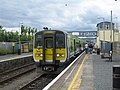 Railcar at Arklow railway station - geograph.org.uk - 1454006.jpg