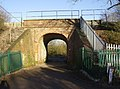 Railway Bridge on track to Southcote Lock looking north - geograph.org.uk - 331732.jpg