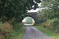 Railway bridge between Pilton and Lyndon, Rutland - geograph.org.uk - 209900.jpg