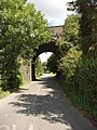 Railway bridge over Derehams Lane, Loudwater - geograph.org.uk - 516781.jpg